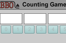 BBO Counting Game