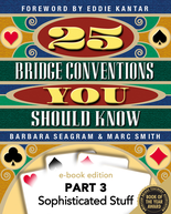 25 Conventions: Sophisticated Stuff